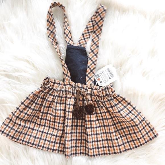 29b2ef5a5 Zara Dresses | Baby Girl Suspender Skirt Nwt | Poshmark